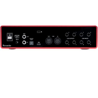 Scarlett 18i8 Gen 3 Interface Rear Panel