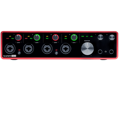 Scarlett 18i8 Gen 3 Interface