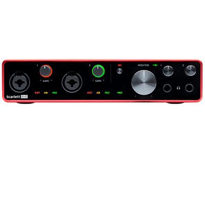 Scarlett 8i4 Gen 3 Interface