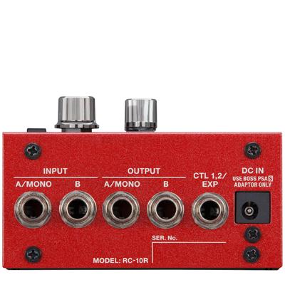 Boss RC10R Rhythm Looper Rear Panel