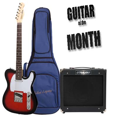 Binary Music Guitar of the Month January 2020 Tokai Legacy Pack
