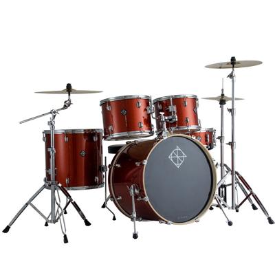 Dixon Spark 22 Inch Bass Drum Champagne Sparkle