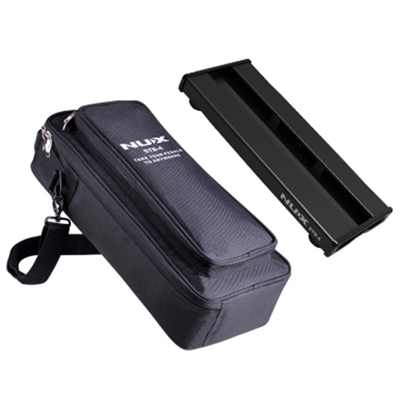Nux STB4 Pedalboard with Gig Bag