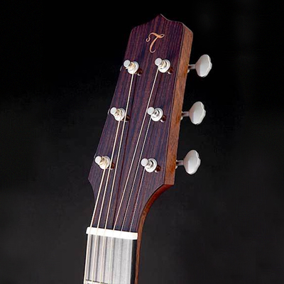 Takamine EF340STT Thermal Top Dreadnought Acoustic electric Guitar Headstock