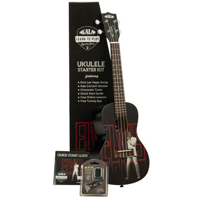 Kala Limited Edition Elvis Viva Las Vegas Concert Ukulele Pack