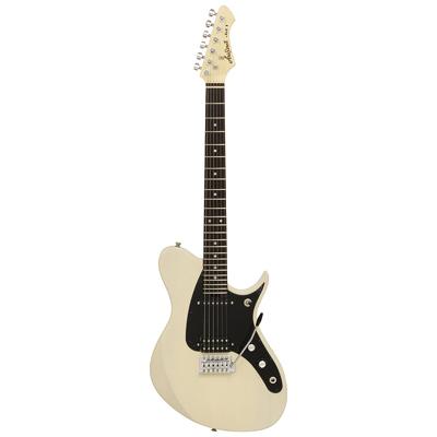 Aria Jet Electric Guitar See Through Vintage White
