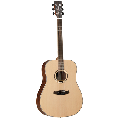 Tanglewood Discovery Exotic Ebony Dreadnought Acoustic Guitar