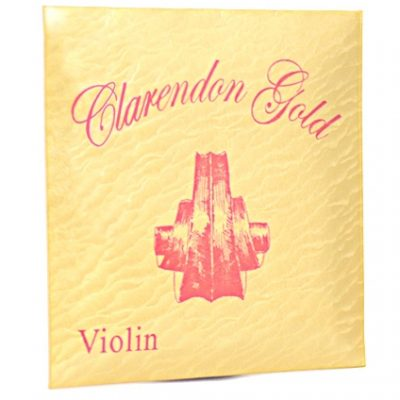 Clarendon Gold Violin strings