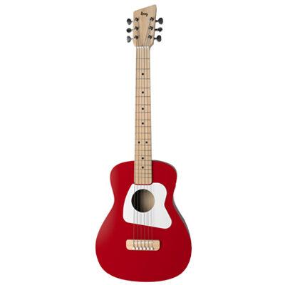 Loog Pro VI Red Junior Guitar