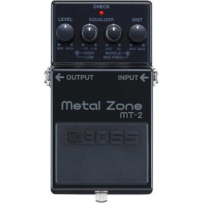 Boss 30th Anniversary Metal Zone Distortion