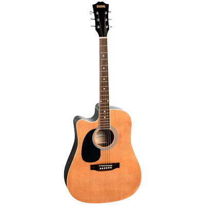 Redding RED50CELH Left Handed Dreadnought Acoustic electric Guitar