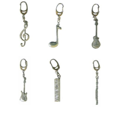 GWKEY Musical Keyrings