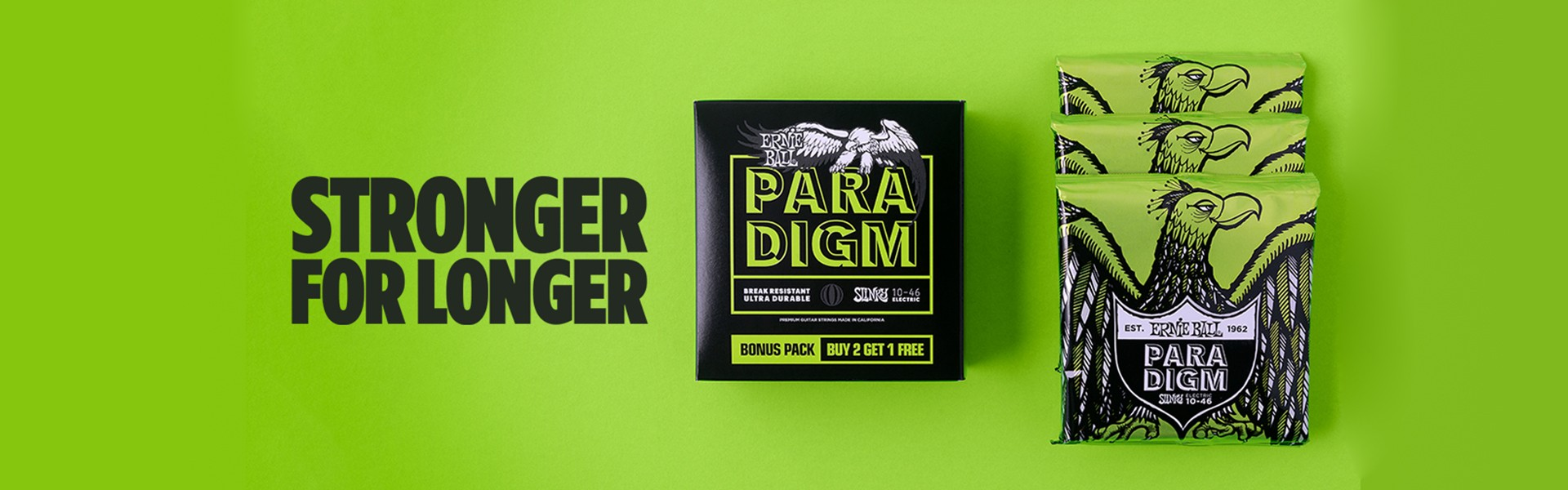 Ernie Ball Paradigm Multipacks